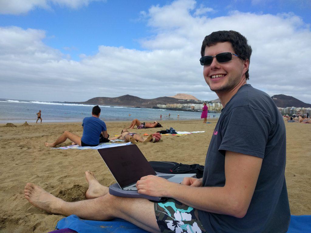 Programmieren am Strand